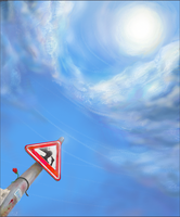 Another Warning Sign by Larwck