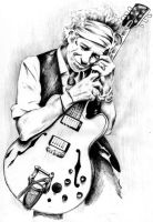 Keith Richards by JabinQuaken
