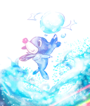 Popplio by DanTH
