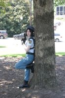Jill Valentine and tree by bprinsurance