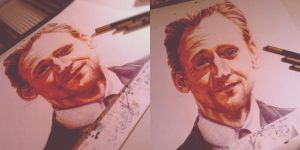 Tom Hiddleston by Skullytan