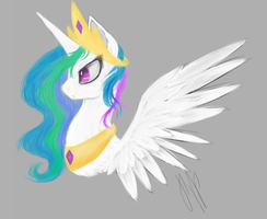 Celestia by 0Pencil0and0Rood0