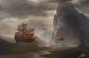 flying by xiaoxinart