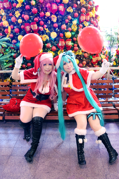 Merry Christmas _ Vocaloid by NeeHime