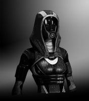 Tali'Zorah (Enhanced) by Psyffxi