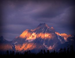 mountains and morning sunlight by aefuller27