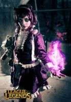 Goth Annie League of Legends by johann29