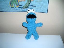 Cookie Monster by Nanettew9