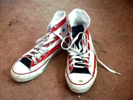 All Star Converse by SomethingWickedStock