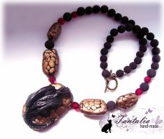 "Necklace ""Child of a dragon"" by Tantalia"