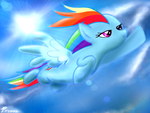 Rainbow Dash by Privia