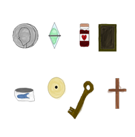 Corpse bride game items by TheBurtontickler13