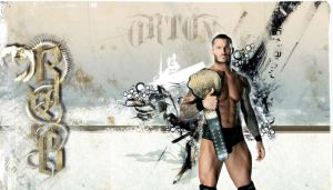 WWE World Champ Orton by Gogeta126
