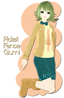.:300+ Watcher's Gift:. Picket Fence Gumi by xkyarii