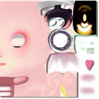 Tda Face Texture Update (again) by TaigaGunnaEatYa