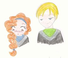 Rose and Scorpius by eirainwonderland
