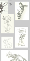 Lots Of Doodles by Call-Me-Jack