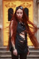 red hair beauty by IlonaShevchishina