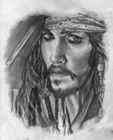 Captain Jack Sparrow by Keldarak