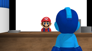 MMD: Meeting with Mario by Digital-SilverEyes