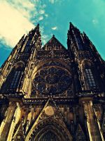 St. Vitus cathedral 2 by Csipesz
