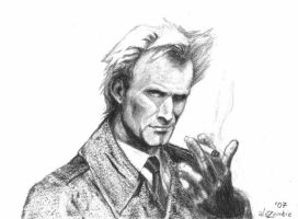 Sting as John Constantine by alezombie