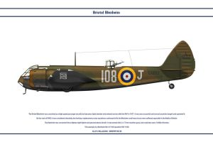Blenheim GB 108Sqn by WS-Clave