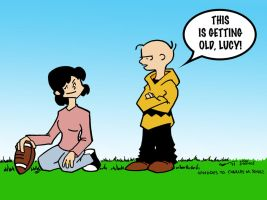 Peanuts-All Grown Up by oyetoons
