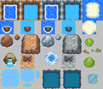 HGSS Tileset_Water by ThunderDove
