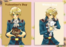 Valentine, White Day by RedGlassesGirl