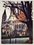 Fall in the City by zillahderigeaud