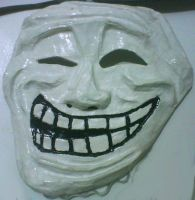 Meme Masks - Trollface by Psycho-Stress