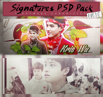 Signature PSD Pack #1 - EXO.1.0 by NightmareChronicles