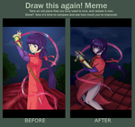 Draw this Again meme by DingDingy