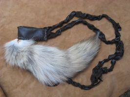 White tip coyote tail by lupagreenwolf