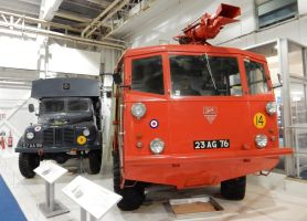 Austin K9WD Ambulance and Alvis Salamander Mk.VI by rlkitterman