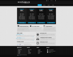 Clean Hosting Template- SOLD by BorisWick