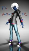 [MMD] Creepypasta OC - The Author - **DL** by Laxianne