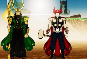 Welcome To Asgard by Vectorman316