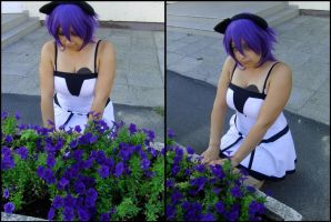 Fresa with flowers by Inulany