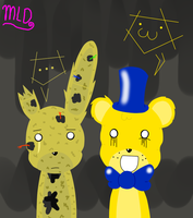Spring Trap And Goldy by LattyStar