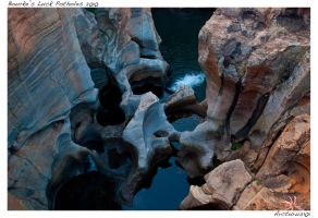 Rock Sculpting Water... by Arcturus101