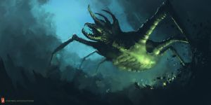 Creature Sketch 02-021-13 by Long-Pham