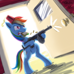 Say Hello to My Little Friend by GiantMosquito