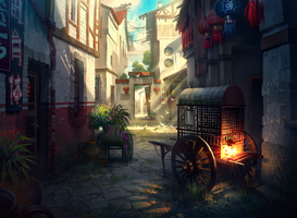 Chinese street by ivany86