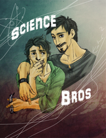 Banner + Stark : Science Bros by Lokipitch