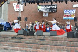 Puerto Rican/Latin Fest, Flowing Dress and Dance 3 by Miss-Tbones