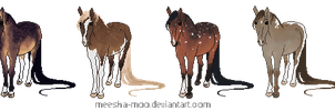 Pixel Pony Adopts2- CLOSED by Meesha-Moo