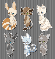 Anthro Adopts [CLOSED] by XAngelFeatherX