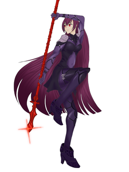 Scathach by DradarContact